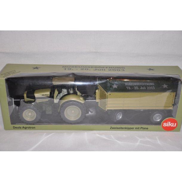 Deutz Agrotron 210 med Welger vogn - Limited edition