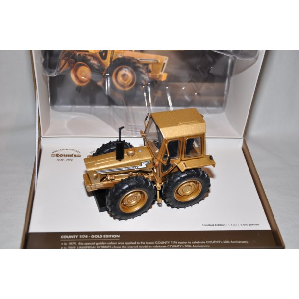 Ford county 1174 - Gold edition limited