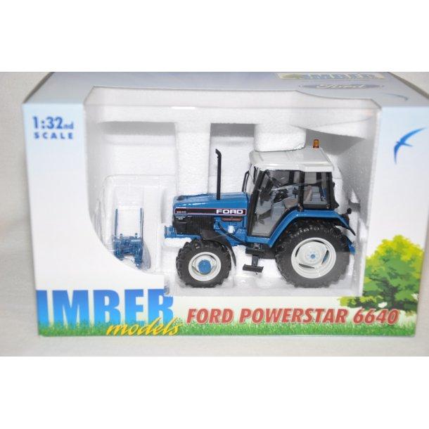 Ford 6640 SLE 4WD powerstar
