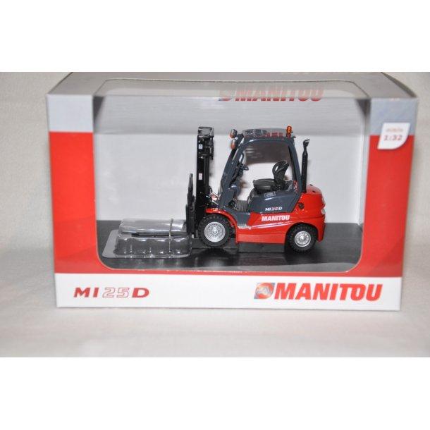 Manitou MI 25 D gaffel truck
