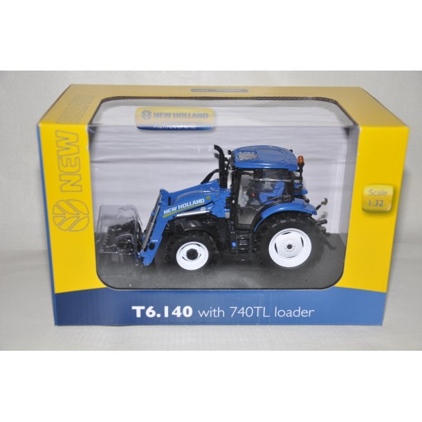 New Holland T6.140 med frontlæsser
