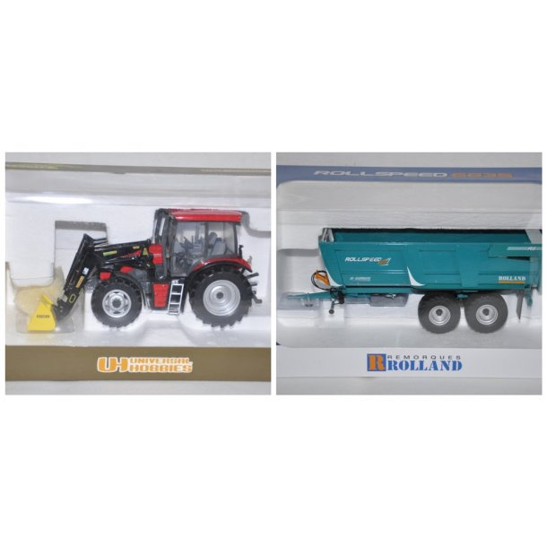 Traktor og vogn
